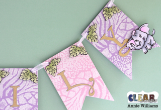 Elephant Baby Banner by Annie Williams for CS - Right