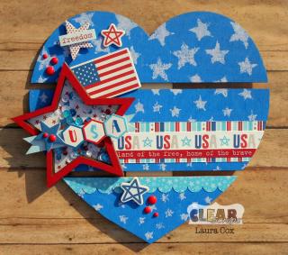 Clear_Scraps_DIY Pallet_Patriotic Heart