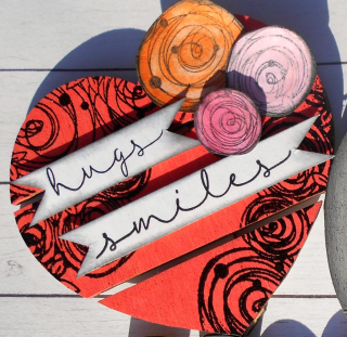 Clear_Scraps_XL Wood Word_Love Our Home close up