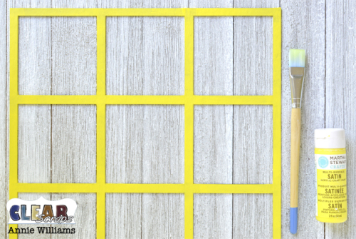 Summer Travel Game Board by Annie Williams for Clear Scraps - Paint Border