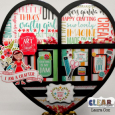 Crafty Girl Heart Printer Tray