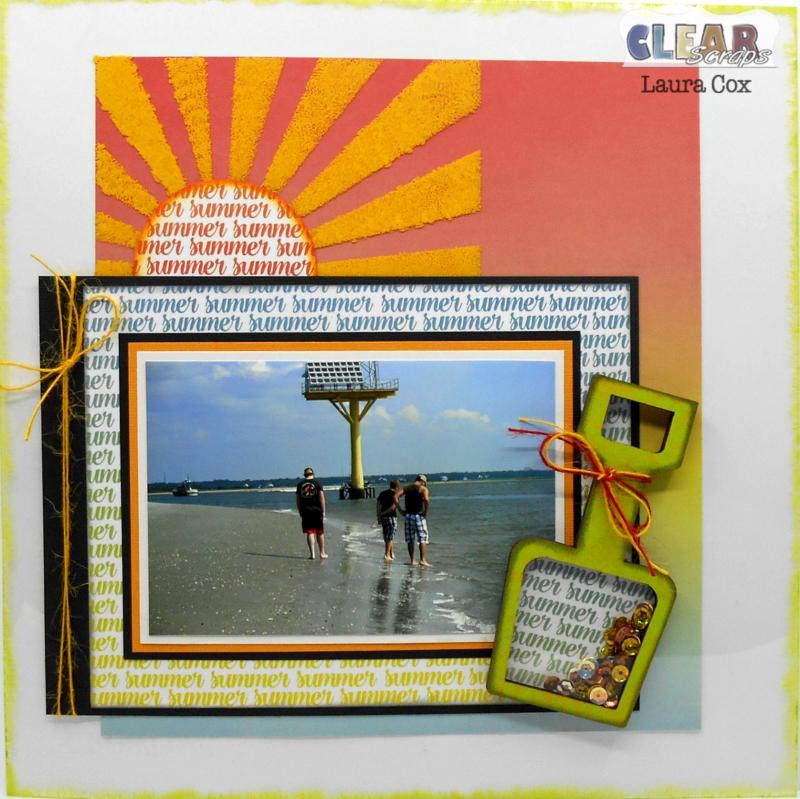 Clear_Scraps_12x12 Acrylic LO_Summer Rays