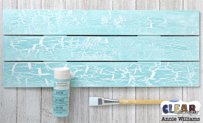 Simple Life Photo Frame Pallet by Annie Williams for Clear Scraps - Topcoat