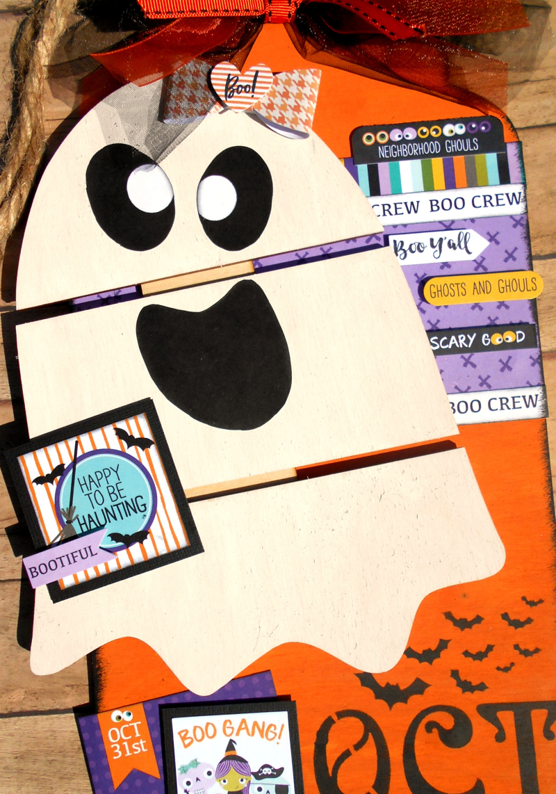 Clear_Scraps_Jumbo Wood Tags_DIY Pallet_Happy to be Haunting_close up 1