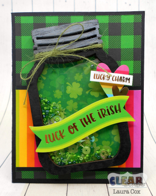Clear_Scraps_Mini Shaker_Luck of the Irish