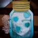 Mason Jar Travel Chalkboard