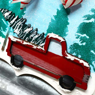 Clear_scraps_red_truck_christmas_decor_wood_stencil_5