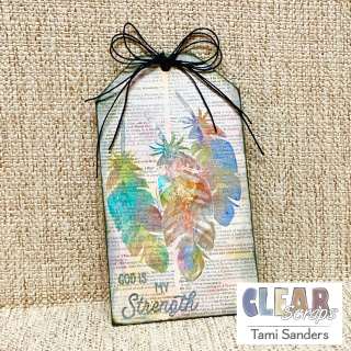Clear_scraps_stencil_technique_feathers_altered_tag_tamisanders_complete