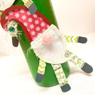 Clear_scraps_christmas_shaker_gnome_elf_ tag