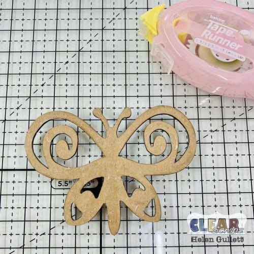 Clear_Scraps_Swirl_Butterflies_Chipboard_Embellishments_Card_Step_02