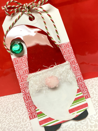 Clear_scraps_christmas_shaker_gnome_elf_tag