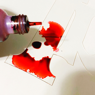 Clear_scraps_clear_expressions_word_title_imagine_acrylic_alcohol_ink_1