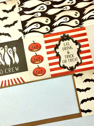 Clear_Scraps_Printers Tray_Happy Halloween close up #1