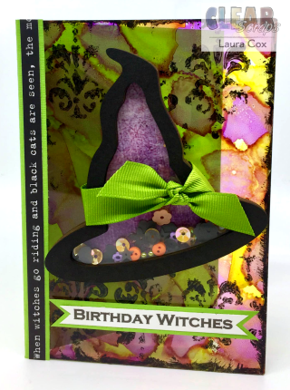 Clear_Scraps_Witch Hat Shaker_Birthday Witches Card 1