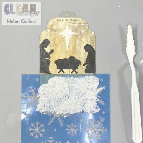 ClearScraps_AcrylicTag_MixedMedia_ChristmasTag_Tutorial1
