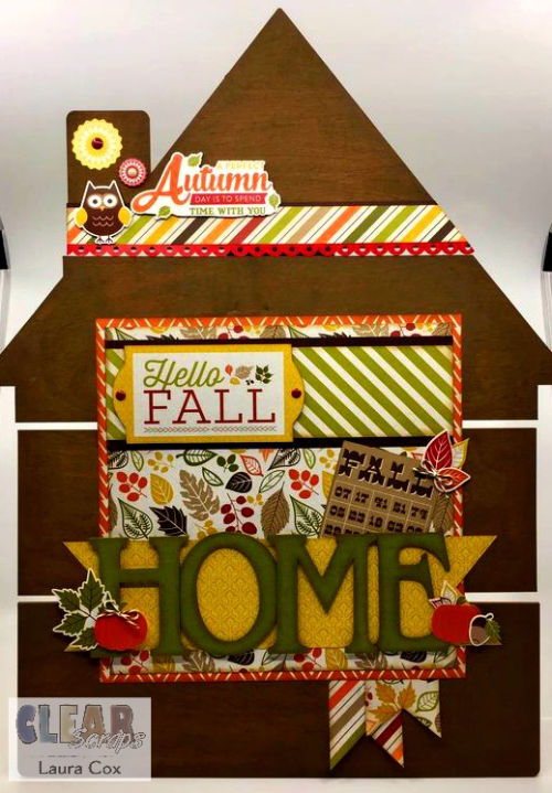 Clear_Scraps_House Pallet_Autumn Days Home Decor
