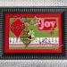Christmas Wood Card Frame