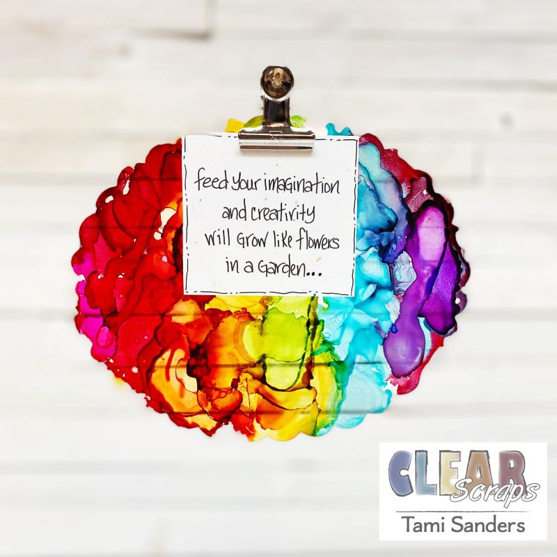 Clear_scraps_rainbow_clipboard_mini_alcohol_ink_tsanders