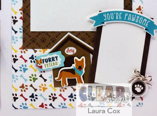 Clear Scraps Shaker Puppy Love LO(3)