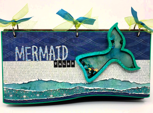 Clear_Scraps_Slimline Album_Mermaid Tales(1)