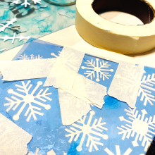 Clear_scraps_snowflake_acrylic_sheet_mitten_shaker_box_tape