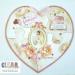 Shabby Heart XL Puzzle Shape