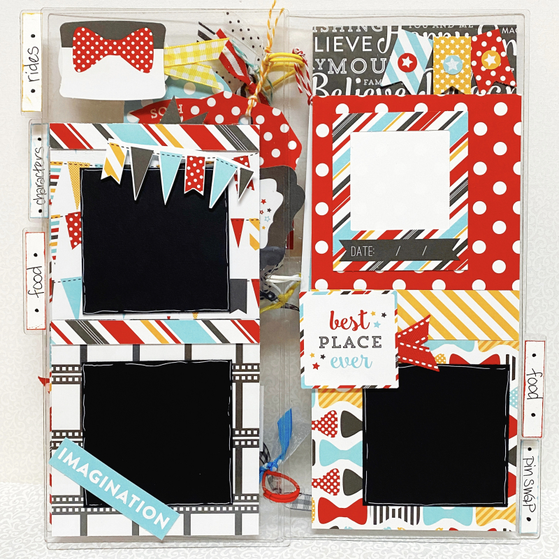 Clear_scraps_acrylic_slimline_mini_album_disney_tami_sander_page3
