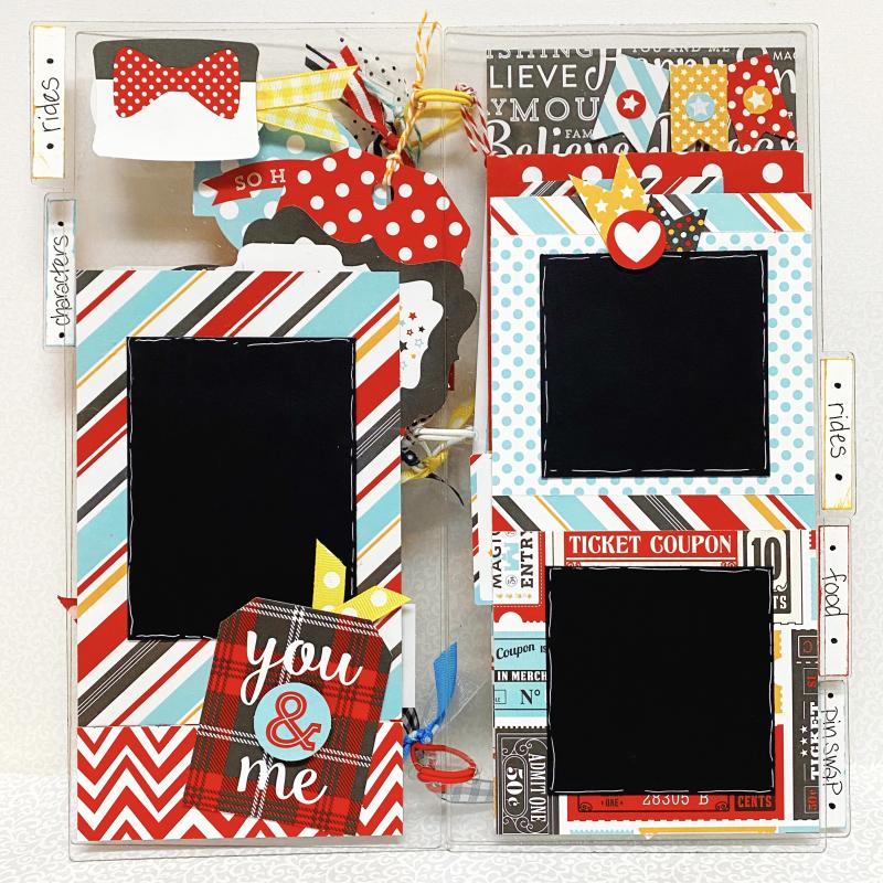 Clear_scraps_acrylic_slimline_mini_album_disney_tami_sanders_page2