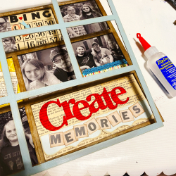Clear_scraps_12X12_tray_frame_family_memories_photo_tami_sanders_adhere