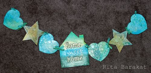 Home Sweet Home Banner by Rita