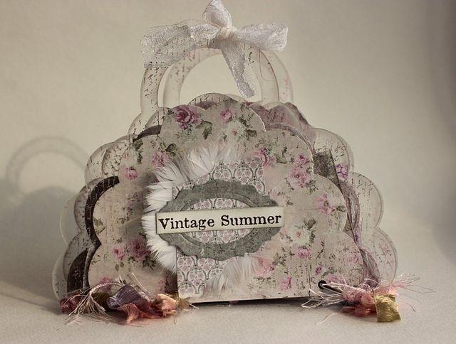Vintage Summer Brag Bag by Elena
