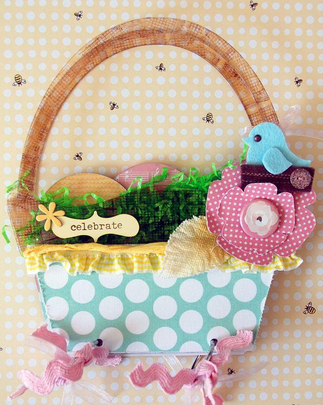 Basket Brag Bag