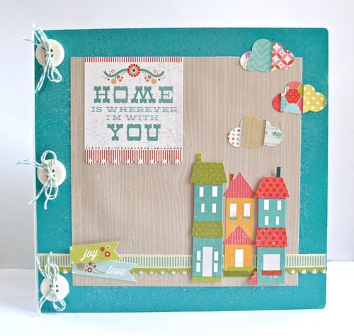 Home Binder Album by Pinky