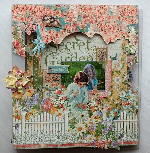 Secret Garden Binder Album by Elena