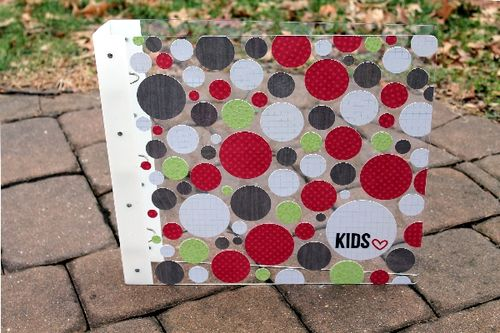 Kids- Large Scrapbook Album