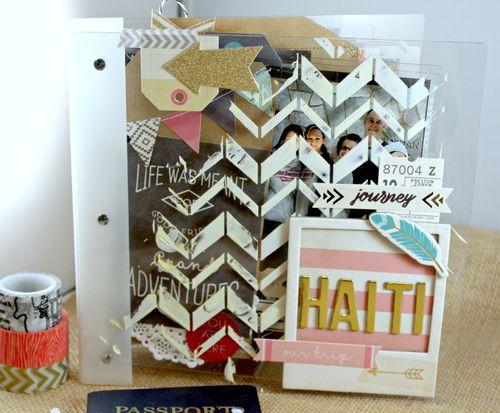Haiti Binder Album