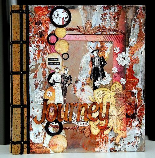 Journey Altered Binder Album by Irene