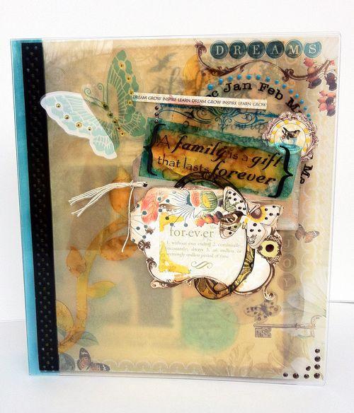 Dreams Binder Album by Leah