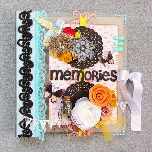 Memories- Built It Your Way Binder by Kay Fatula