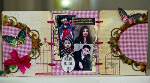 Dream-Believe-Love Frame by Adora