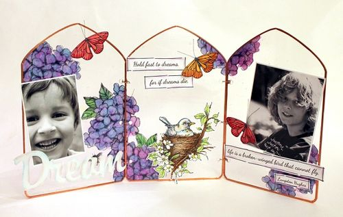 Dream Tri Fold Frame by Wendy