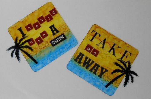 Travel Coasters by Kc
