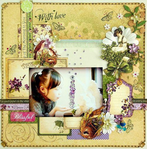 Blissful Layout by Irene