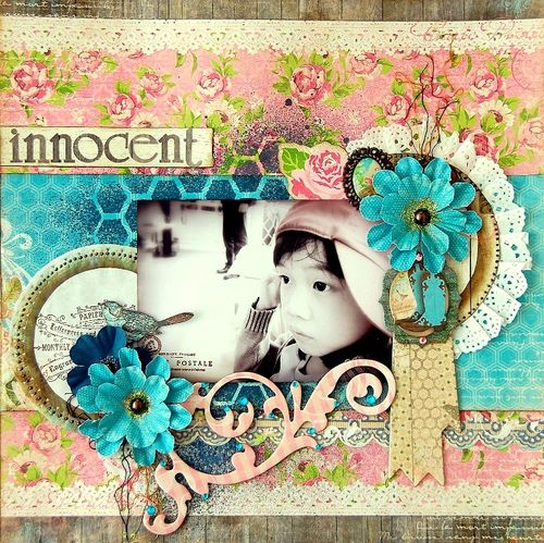 Innocent Layout by Irene