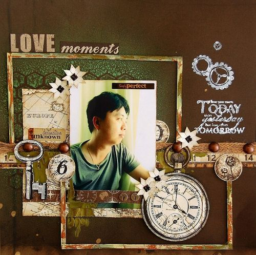 Love Moments Layout by Irene