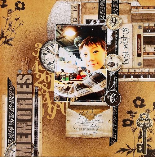 Memories Layout by Irene