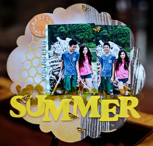Summer Layout by Adora