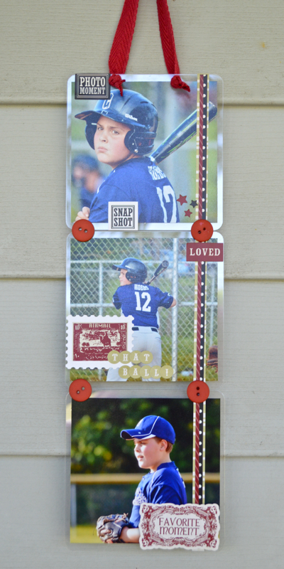 Baseball Wall Hanging