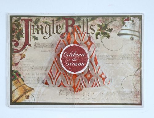 Jingle Bells Card by Pinky