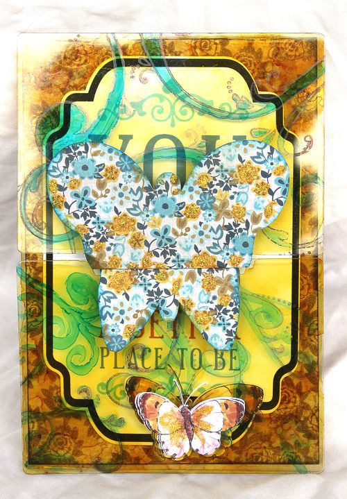 Butterfly Card by Leah